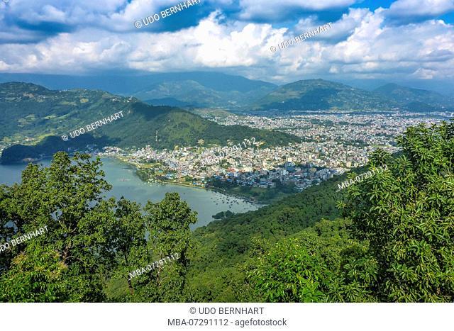 Nepal, Himalaya Mountains, Pokhara Valley, Pokhara, Phewa Lake