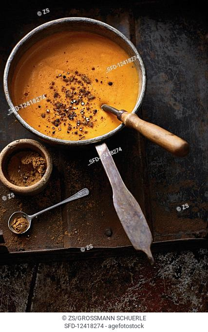Shourbeh Addas (spicy lentil soup, Syria)