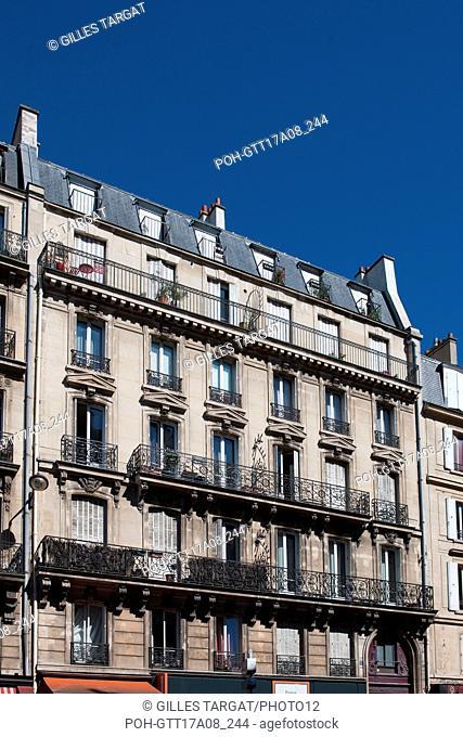 Paris, 5th arrondissement, 5 rue gay lussac, building where lived George Sand, Photo Gilles Targat