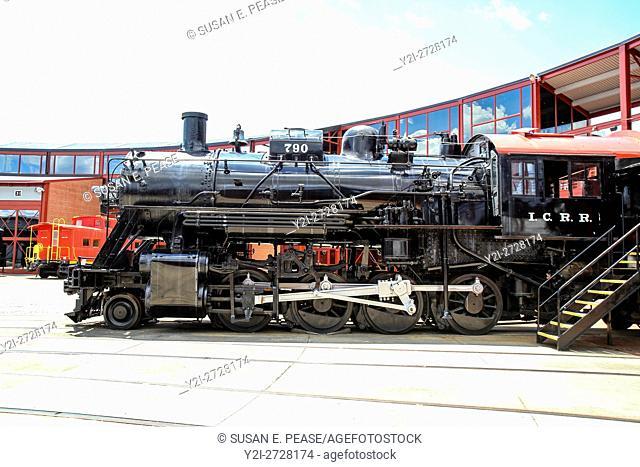 Steamtown National Historic Site, Scranton, Pennsylvania, United States, North America