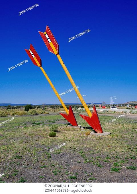 Twin Arrows Tradingpost near Flagstaff,Arizona,Route 66