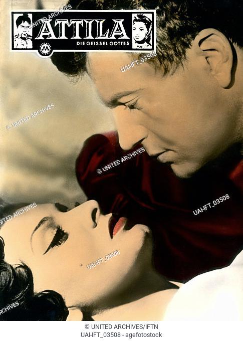 Attila Flagelo di Dio, Italien/Frankreich 1954, aka: Attila, die Geißel Gottes, Regie: Pietrio Francisci, Darsteller: Henri Vidal, Sophie Loren