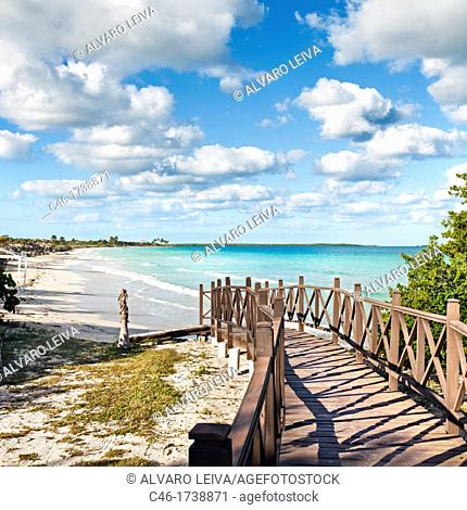 Beach, Hotel Occidental Royal Hideaway Ensenachos, Cayo Ensenachos, near Cayo Santa Maria, Cayerias del Norte, Cuba