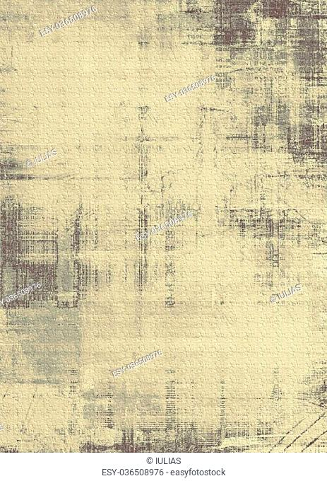 Old background or texture. With different color patterns: yellow (beige); brown; gray; black