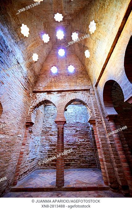 Mosque's bath Alhambra de Granada, Granada, Andalusia, Spain, Europe