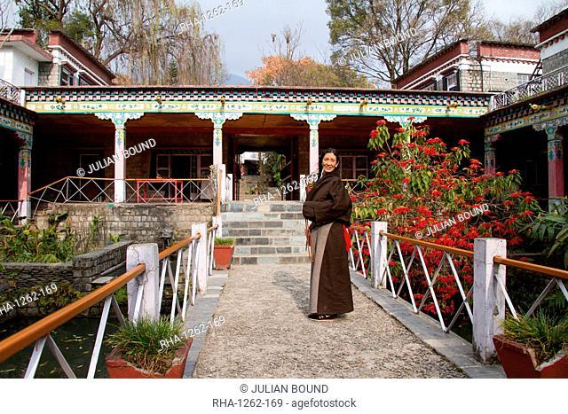 The Norbulingka Tibetan Institute of Tibetan Arts and Culture, Dharamsala, Himachal Pradesh, India, Asia