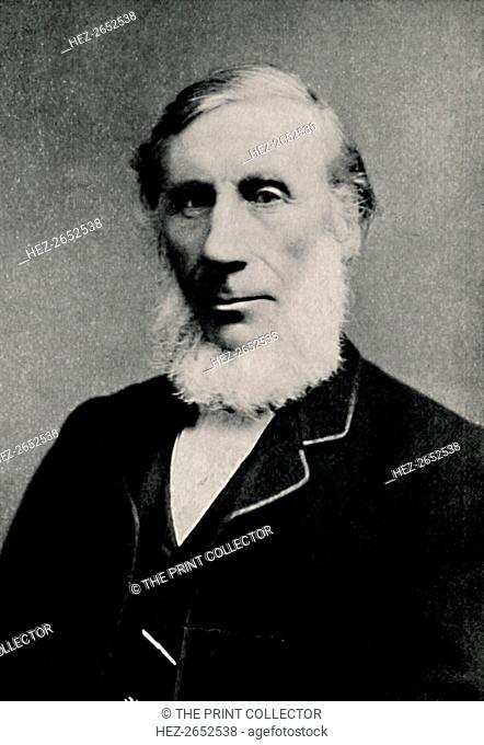 'Professor John Tyndall', c1880, (1904). John Tyndall FRS (1820-1893) was a prominent Irish 19th-century physicist. His initial scientific fame arose in the...