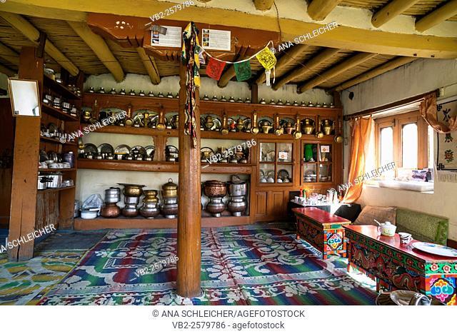 Traditional houseware. Trekking in Markha valley (Laddakh, India)