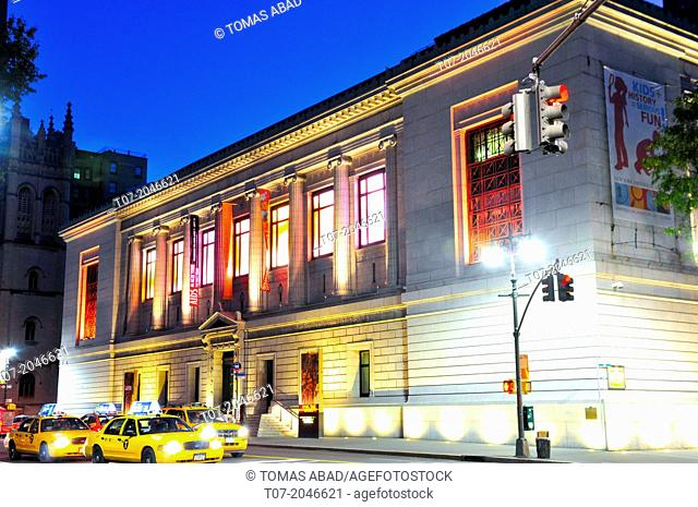 New York Historical Society Library and Museum, Upper West Side, Manhattan, New York City, USA