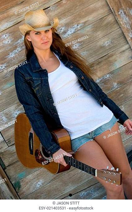 Guitar Country Girl
