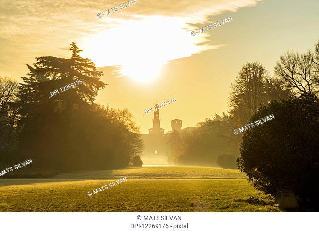Sforza Castle; Milan, Lombardy, Italy