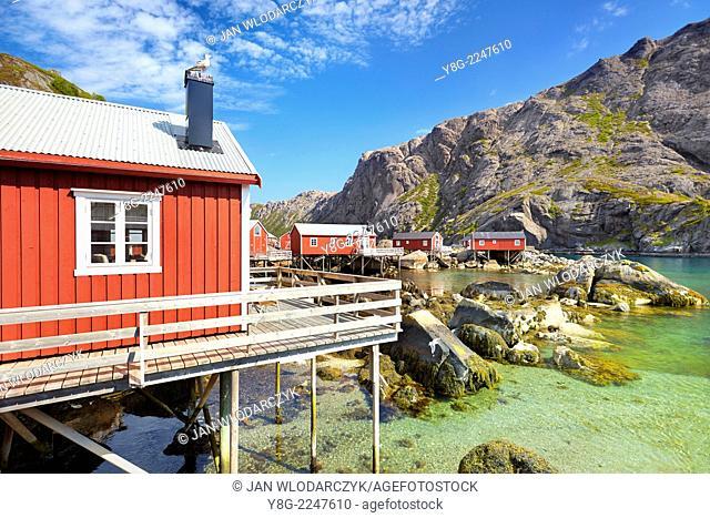 Lofoten Islands, Flakstadoy Island, Norway