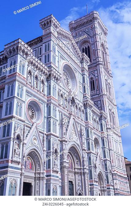 Duomo Santa Maria del Fiore, Florence, Tuscany, Italy, Europe
