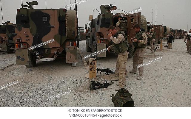 Dutch ISAF forces in Kunduz, Afghanistan