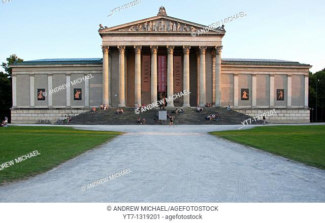 Staatliche Antikensammlung National Collection of Classical Antiquities at the Koenigsplatz square  Munich, Germany