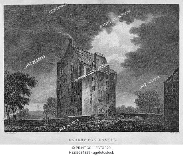 'Laureston Castle', 1804. Artist: James Fittler