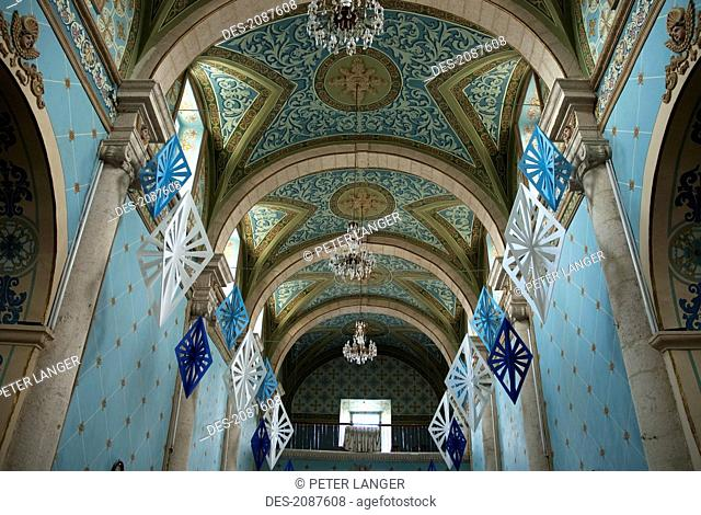 Central Nave Of The Temple Of Guadalupe, Asientos, Aguascalientes, Mexico