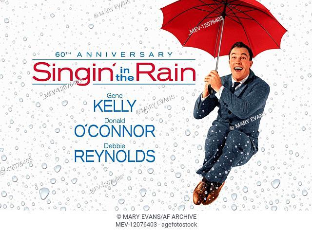 Gene Kelly Poster Characters: Don Lockwood Film: Singin' In The Rain (USA 1952) Director: Stanley Donen & Gene Kelly 27 March 1952