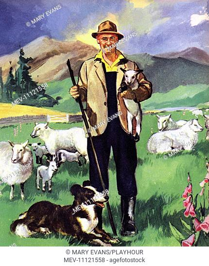 The Shepherd. People You See, from Teddy Bear magazine, 1964