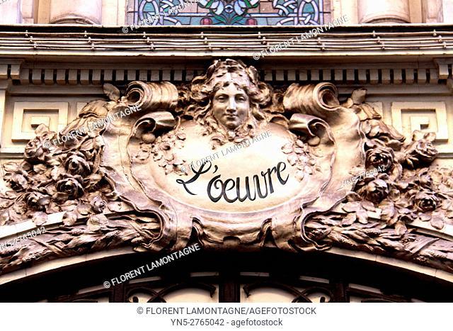 Théâtre de l'Œuvre, theater in Paris, Ile de France