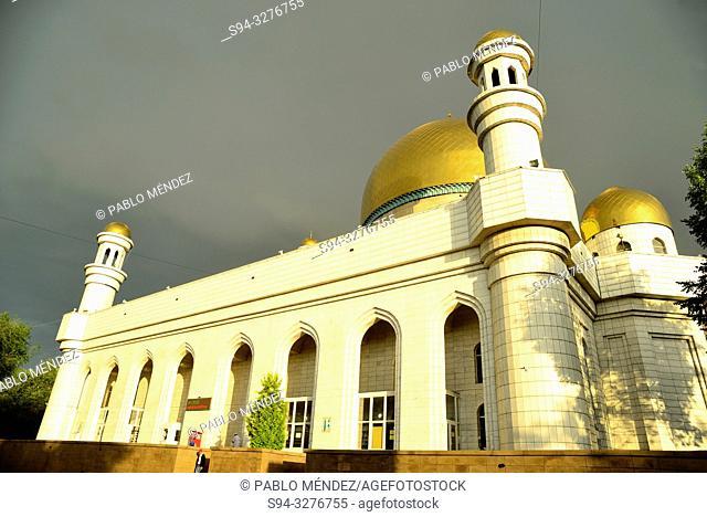 Central Mosque of Almaty, Kazakhstan