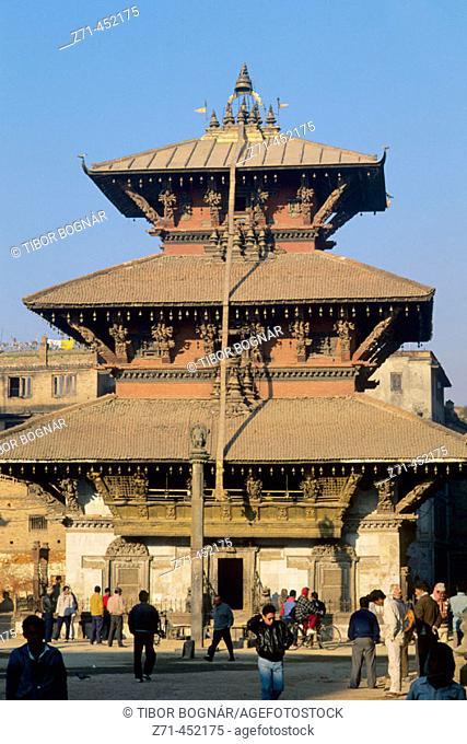 Bhimsen Mandir, Patan. Kathmandu Valley, Nepal