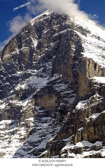 Eiger, North face, Mount Eiger, Switzerland, alpin