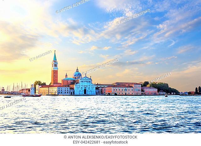 San Giorgio Maggiore Island view in Venice, Italy