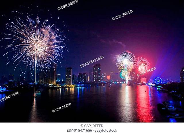 Fireworks countdown (Happy New Year