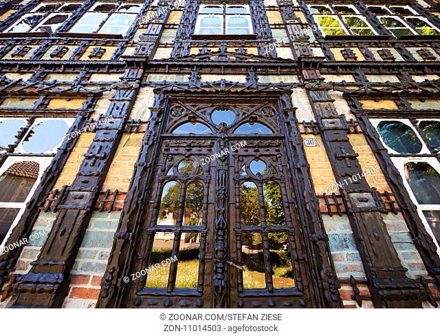 Junkerhaus, Museum, Lemgo, Ostwestfalen-Lippe, Teutoburger Wald, Nordrhein-Westfalen, Deutschland, Europa