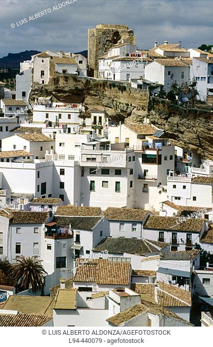 Setenil. Cádiz provincia, Andalusia. Spain