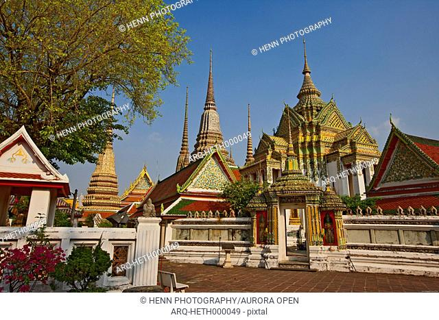Buddhist Temple Wat Pho in Bangkok