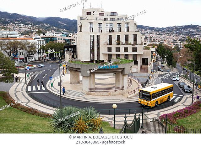 Marina shopping centre. Funchal, Madeira