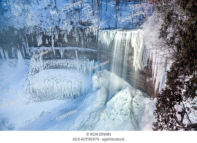 Tew's Falls, Spencer Gorge/Webster's Falls Conservation Area, Hamilton, Ontario, Canada