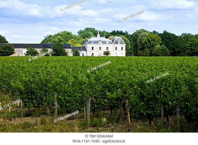 Chateau de la Grille near Azay le Rideau, Loire Valley, France