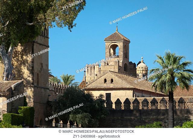 Alcazar de los Reyes Cristianos. Córdoba, Spain