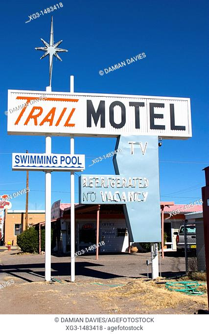 Trail Motel, Truth or Consequences, New Mexico, USA