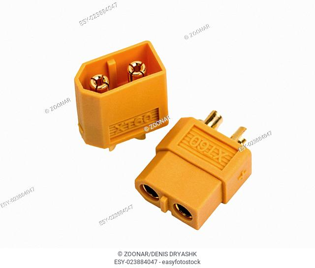 Low voltage high-power connector industrial standa
