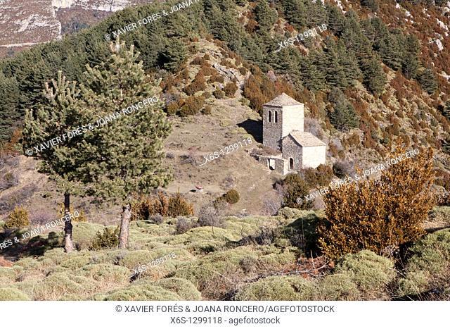 Hermitage of Fajanillas, Tella, National Park of Ordesa and Monte Perdido, Huesca, Spain