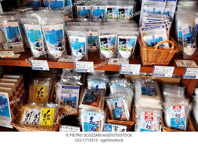 Ishigaki Island Okinawa, Japan: salt for all purposes, sold at Suya shop