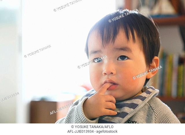 Young Japanese kid portrait