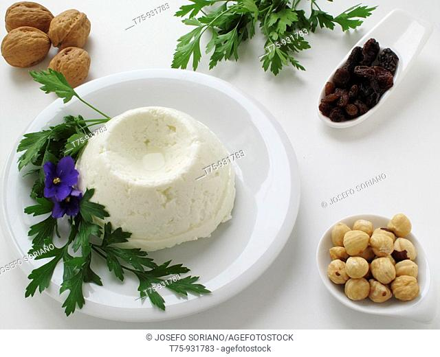 Cream cheese with nuts
