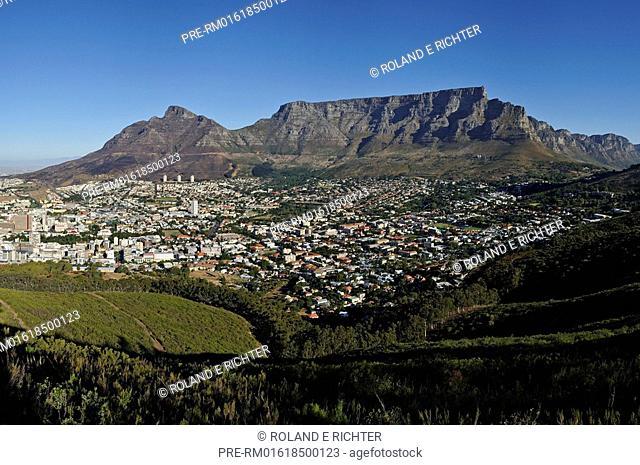 Cape Town, Western Cape, South Africa / digital enhanced, digital composed panorama / digital zusammengebautes Panoramabild, Rundblick