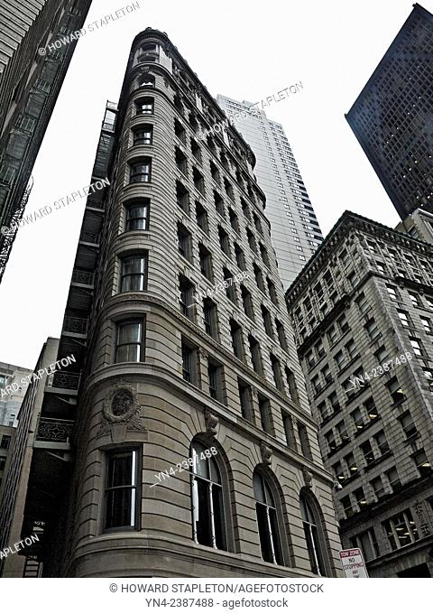 Second Brazer Building located at 25 State Street, Boston Massachusetts, listed on the National Register of Historic Places