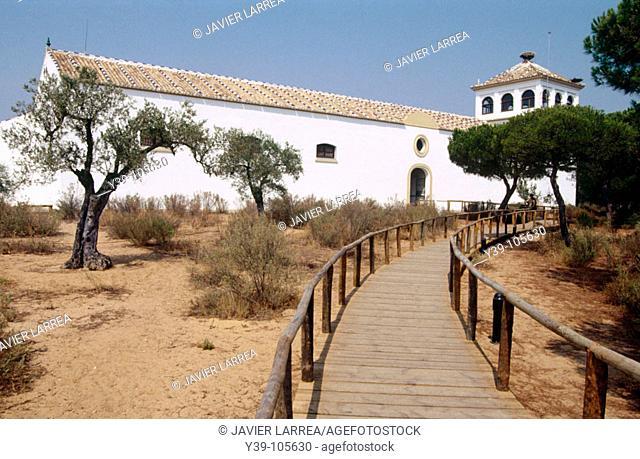 El Acebuche visitor centre. Doñana National Park. Andalucia. Spain