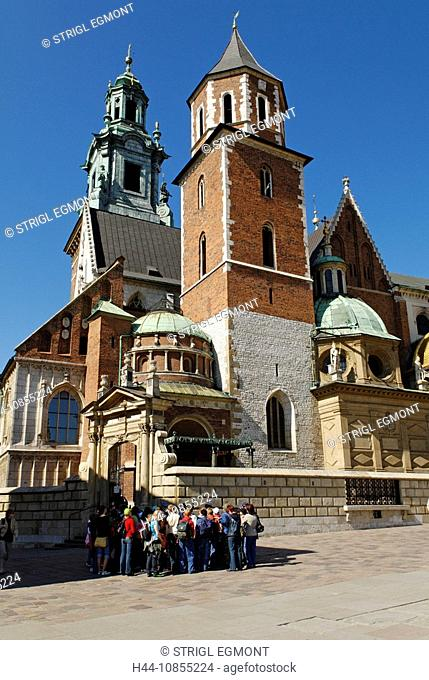 10855224, People, cathedral, Wawel hill, Krakow, C