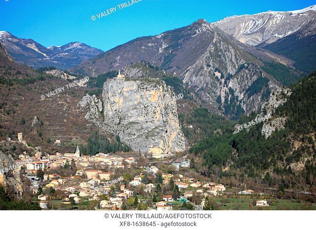 Castellane, Alpes de Haute Provence, Provence-Alpes-Côte d'Azur, France