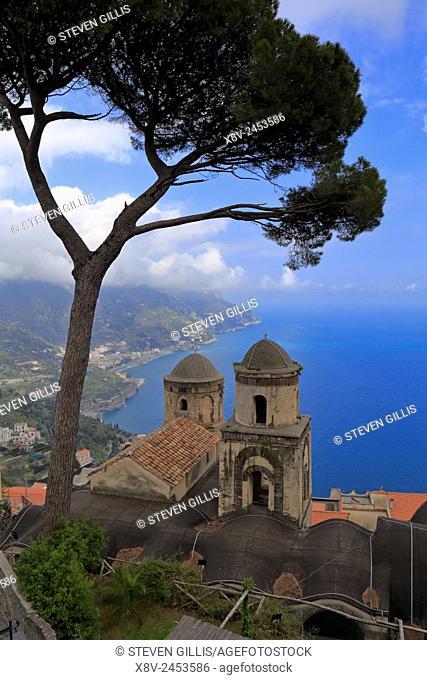 Amalfi Coast from Villa Rufolo, Ravello, Italy