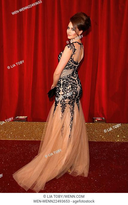 The British Soap Awards 2015 held at the Palace Hotel - Arrivals Featuring: Anna Passey Where: Manchester, United Kingdom When: 16 May 2015 Credit: Lia...