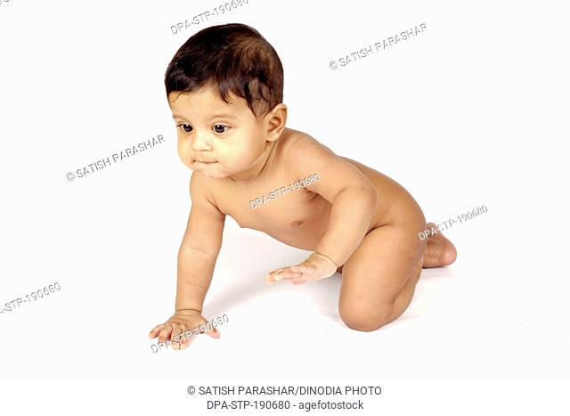 Child baby boy India Asia MR#556